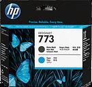 HP 773 Matte Black/Cyan DesignJet Printhead, C1Q20A