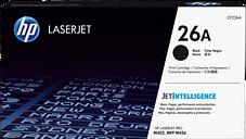 HP 26A Black Original LaserJet Toner Cartridge, CF226A