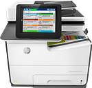 HP PageWide Enterprise Color MFP 586f|20.3 cm touchscreen, SVGA Color Graphic Display|G1W40A#BGJ