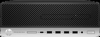 HP ProDesk 600 G3 Small Form Factor PC 3.2 GHz Intel Quad Core CPU 500 GB SATA 4 GB DDR4 Windows 10 Pro 64