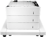 HP LaserJet 3x550-sheet Paper Feeder with Cabinet J8J93A