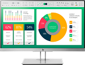 HP EliteDisplay E223 21.5-inch Monitor|1FH45A8#ABA
