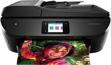 HP ENVY Photo 7855 All-in-One Printer|6.75 cm Capacitive touchscreen color graphics Display|K7R96A#B1H