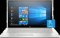 "HP ENVY Laptop - 17t|1.8 GHz Intel Quad Core CPU|1 TB SATA|8 GB DDR4|17.3"" FHD IPS Display|Windows 10 Pro 64"