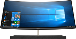 HP ENVY Curved All-in-One - 34-b120qe|Silver|Intel CPU|8 GB DDR4|IPS Display|Windows 10 Pro