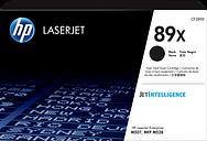 HP 89X High Yield Black Original LaserJet Toner Cartridge, CF289X