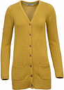 Womens Cable Sleeve Cardigan