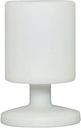 Lámpara de mesa de exterior Smartwares, LED 5 W Blanca 5000.472
