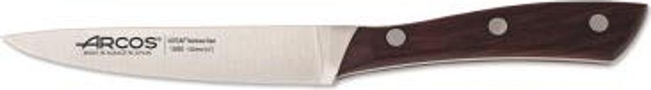 Cuchillo Mondador Arcos Natura 155010 de Acero Nitrum, Mango de Madera de Palisandro y 10 cm de Hoja en estuche