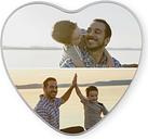 Lata fotográfica personalizada - en forma de corazón