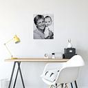 Foto en aluminio ChromaLuxe (40x50 cm)