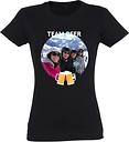 Camiseta - Mujer - Negro - XL