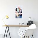 Foto en aluminio ChromaLuxe (30x60 cm)