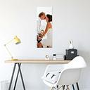 Foto en aluminio ChromaLuxe (30x80 cm)