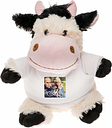 Peluche con camiseta personalizada - Vaquita