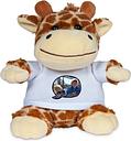 Peluche con camiseta personalizada - Jirafa