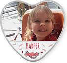 Lata dulce personalizada - en forma de corazón