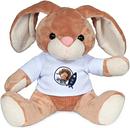 Peluche con camiseta personalizada - Conejo