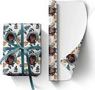 Papel de regalo personalizado con foto - G
