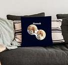 Love Throw Pillow - Medio con relleno - Negro