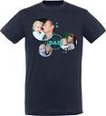 Camiseta del día del padre - Hombres - Azul marino - XL