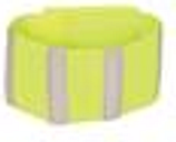 Roma Reflective Bands - Yellow - Pack of 2