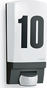 Steinel Outdoor Sensor Light L 1 Black House Number