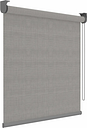 Decosol Roller Blinds Deluxe Grey Translucent 150x190 cm