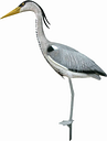 Ubbink Animal Figure Heron 84cm