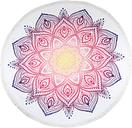 HIP Toalla de playa 2069-H Mirazo 160 cm redonda multicolor