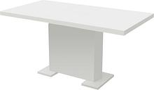 vidaXL Extendable Dining Table High Gloss White