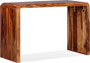 vidaXL Sideboard/Desk Solid Sheesham Wood Brown