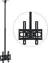 "vidaXL Ceiling Mounted TV Bracket 23""-42"" Height Adjustable"