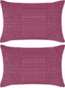 vidaXL Cojines de terciopelo 40x60 cm rosa 2 unidades
