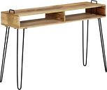 vidaXL Console Table Solid Mango Wood 115x35x76 cm
