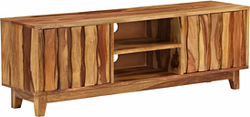 vidaXL TV Cabinet Solid Sheesham Wood 118x30x40 cm