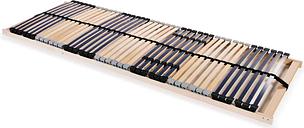 vidaXL Stelaż do łóżka z 42 listwami, 7 stref, 70 x 200 cm