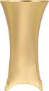 vidaXL Copertura Elastica per Tavolo 2 pz 60 cm Oro