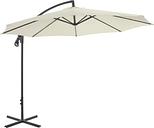 vidaXL Cantilever Umbrella with Steel Pole 300 cm Sand