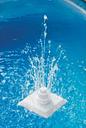 vidaXL 13 Piece Pool Grecian Fountain White
