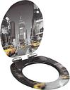 vidaXL Deska klozetowa wolnoopadająca, MDF, wzór Nowy Jork