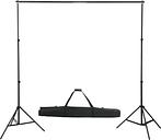 vidaXL Telescopic Background System 155-300 cm