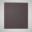 vidaXL Tenda a Rullo Oscurante 100 x 230 cm Caffè