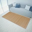 vidaXL Rectangular Brown Bamboo Rug 150 x 200 cm