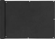vidaXL Parawan balkonowy z tkaniny oxford 75x600 cm antracyt