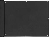 vidaXL Parawan balkonowy z tkaniny oxford 90x400 cm antracyt