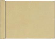 vidaXL Toldo para balcón tela oxford 75x600 cm beige