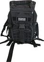 Toolpack Multifunctional Backpack Budge Black 30x22x50 cm 360.106