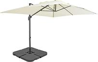 vidaXL Outdoor Umbrella with Portable Base Sand