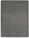 vidaXL Rug 80x150 cm Faux Rabbit Fur Dark Grey
